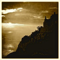 Lubenice_sunset